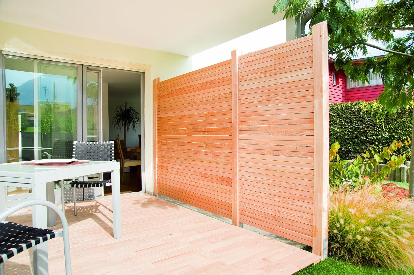 Sichtschutz Terrasse Haselnuss : Sichtschutz Schaffen Sie eine ...