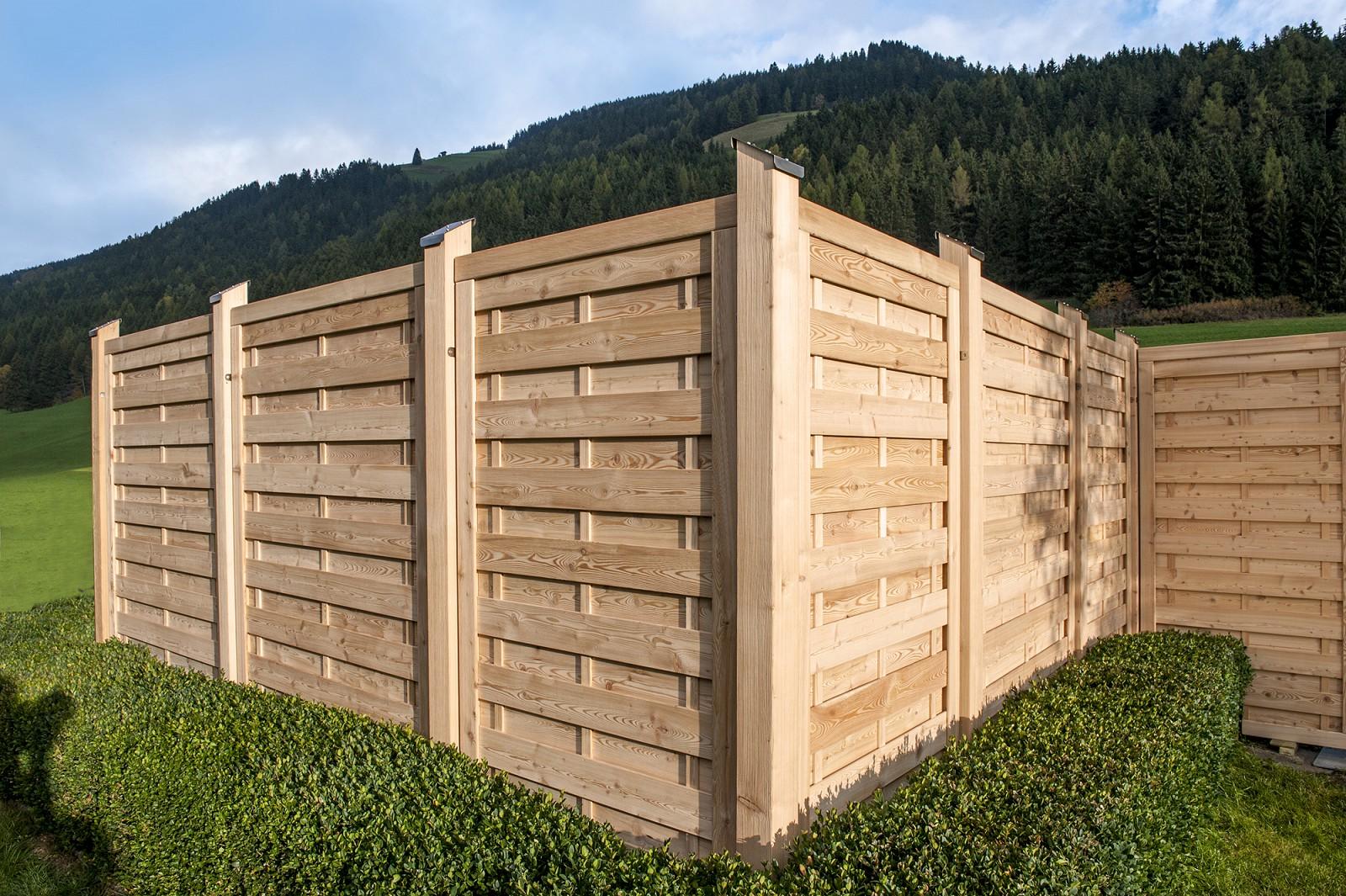 Balkon Sichtschutz Holz Bank Hauptdesign